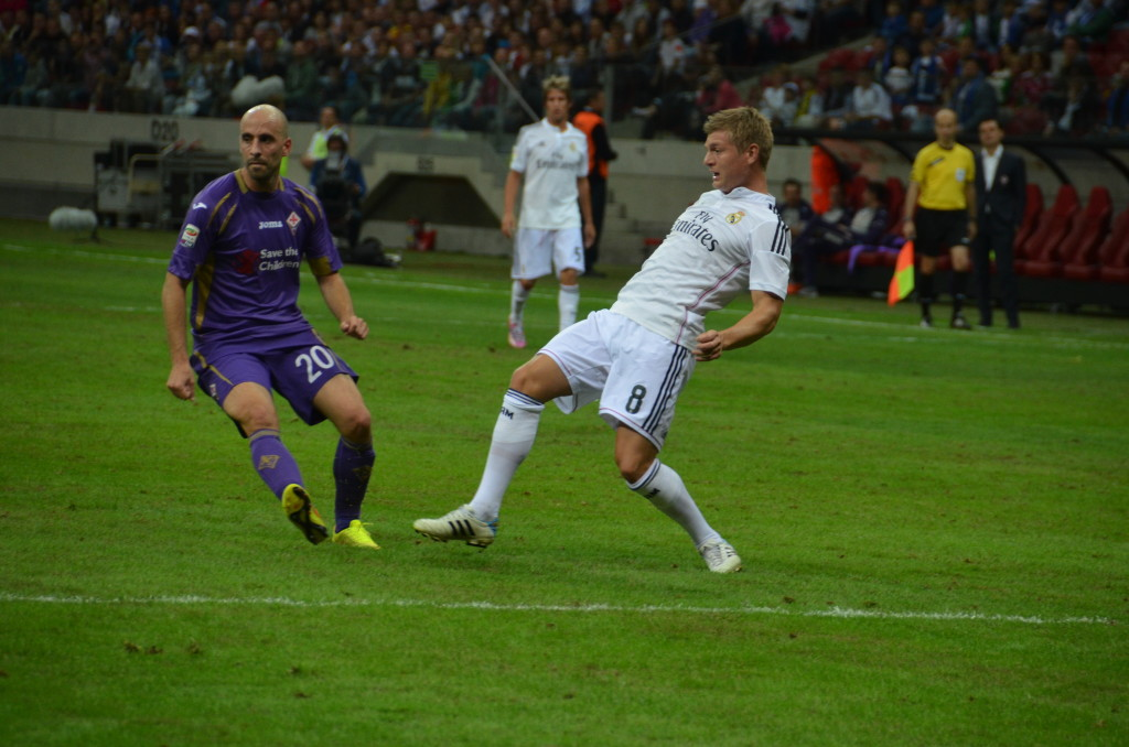 DSC 7401 1024x678 Super Mecz 16/08/2014 Real Madryt vs Fiorentina